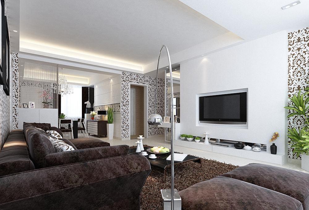 简约 三居 客厅图片来自用户2739081033在【高清】玩转简约潮流4室2厅设计34的分享