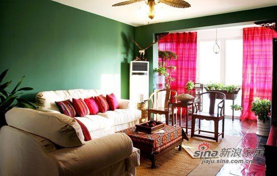 其他 一居 客厅图片来自用户2558746857在75平东南亚风尽显雨林风范75的分享