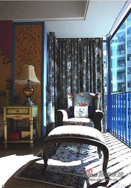 地中海 别墅 客厅图片来自用户2756243717在清爽地中海 闹市中的宁静天空34的分享