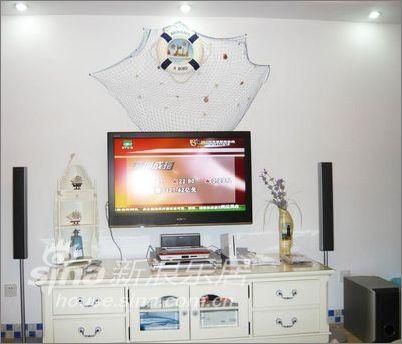 简约 二居 客厅图片来自用户2557979841在110平普罗旺斯风情家居装修95的分享
