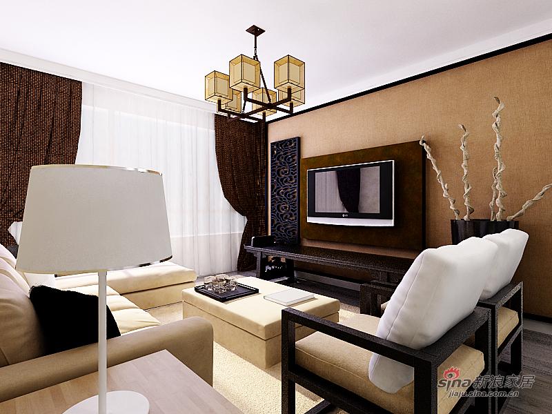 中式 二居 客厅图片来自用户1907696363在【和谐家园】简约中式83的分享