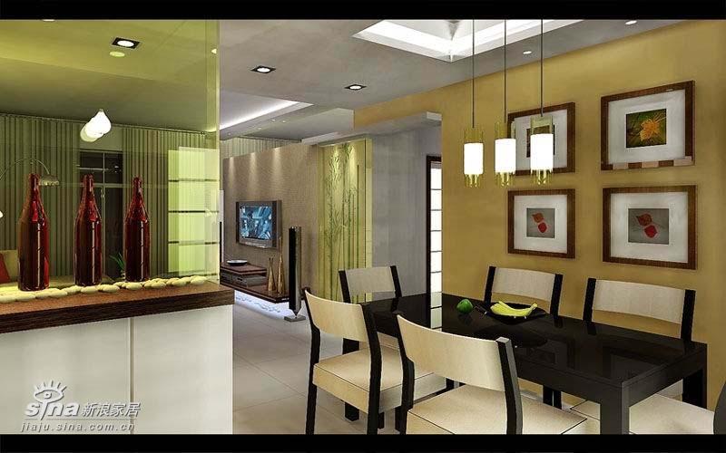简约 二居 餐厅图片来自用户2739153147在十里河设计师出品62的分享