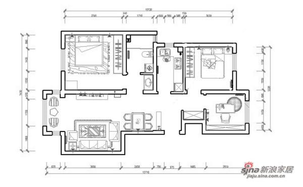 简约 三居 其他图片来自阳光力天装饰在北宁湾-三室两厅一厨一卫-现代简约33的分享