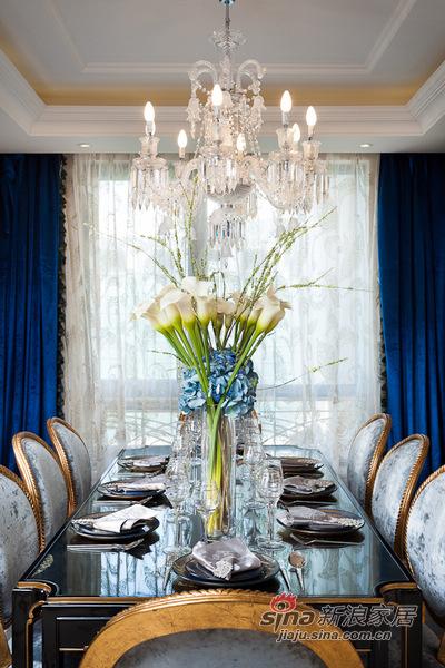欧式 别墅 餐厅图片来自用户2557013183在高富帅的另类欧式奢华风格14的分享