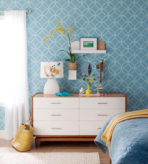 蓝色 卧室图片来自用户2558757937在喜欢的分享
