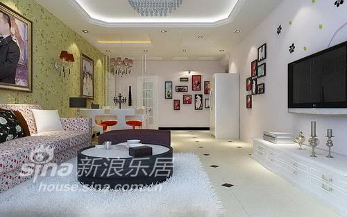 简约 三居 客厅图片来自用户2745807237在时尚简约 幸福港湾43的分享