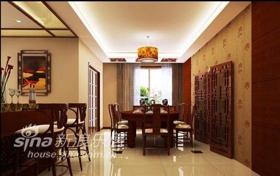 中式 四居 餐厅图片来自用户2748509701在天通苑西三区74的分享