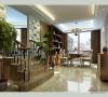 140平现代简约风格错层餐厅设计