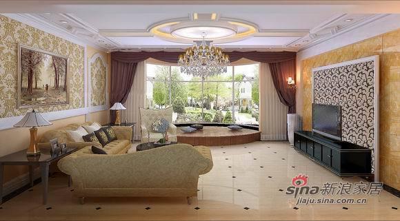 欧式 别墅 客厅图片来自用户2746953981在大气的300平米经典欧式典范40的分享