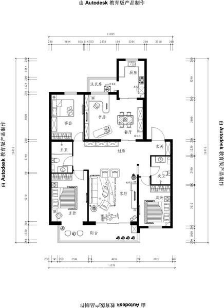 其他 二居 客厅图片来自用户2558746857在天鸿美域25的分享