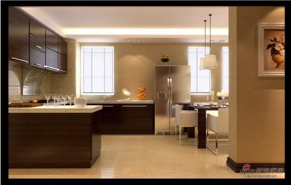 混搭 别墅 厨房图片来自用户1907691673在新中式混搭尊享极品豪宅41的分享