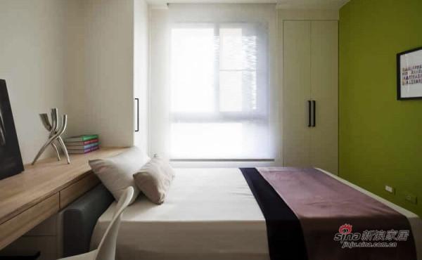 简约 三居 卧室图片来自用户2557979841在140平怡然清新淡雅格调自然家28的分享