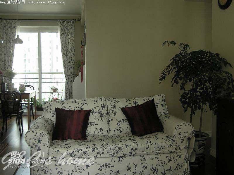 简约 四居 客厅 旧房改造 田园图片来自用户2738820801在幸福杂货铺20的分享