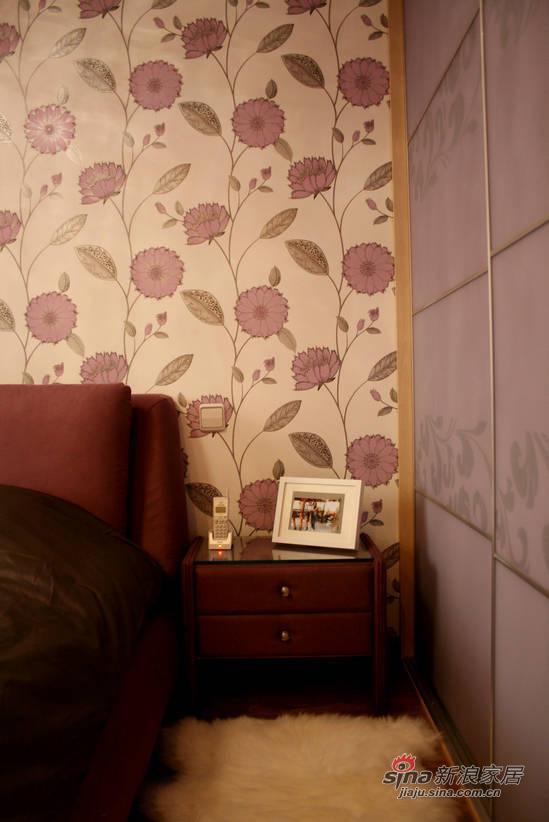 简约 三居 卧室图片来自佰辰生活装饰在106平现代简约温馨三口之家28的分享
