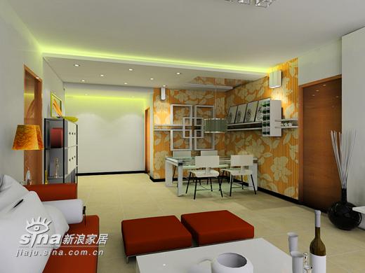 简约 二居 餐厅图片来自用户2739153147在鼎立水岸别样设计22的分享