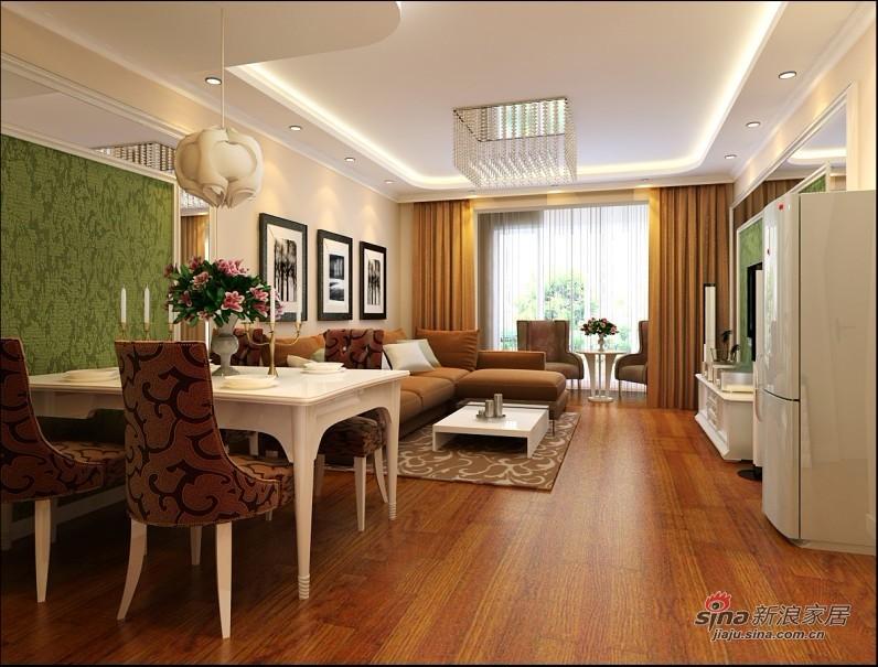 简约 二居 客厅图片来自用户2745807237在80平米井然有序的空间83的分享