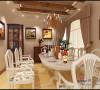 宽敞明亮的餐厅让主人的就餐空间诙谐愉快。