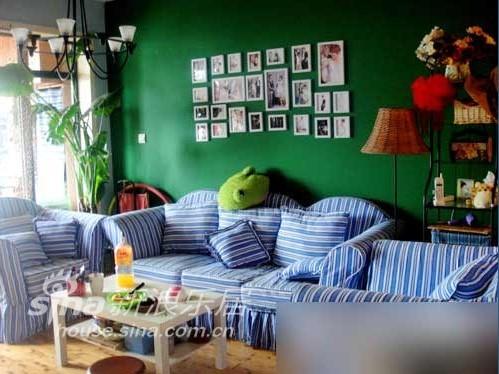 简约 二居 客厅图片来自用户2737782783在10万装地中海田园混搭婚房87的分享