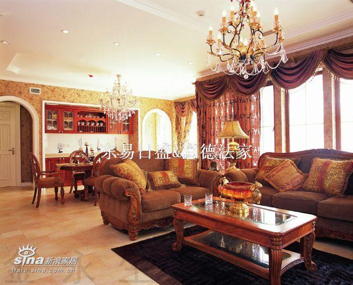 欧式 别墅 客厅图片来自用户2757317061在壹仟栋28的分享