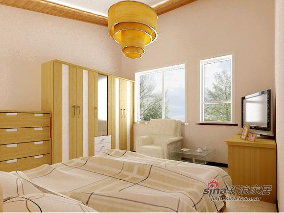 简约 三居 卧室图片来自用户2739153147在7万简约110平温馨三口之家49的分享