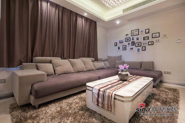 简约 二居 客厅图片来自用户2745807237在4.5万改造85平现代简约婚房93的分享