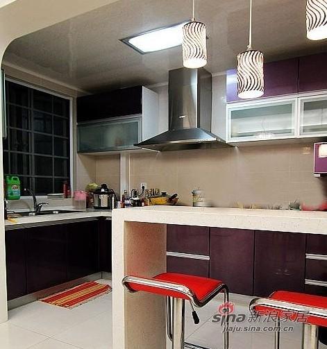简约 三居 厨房图片来自用户2738093703在6万装好我的100平3室1厅94的分享
