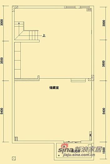 地下室户型图