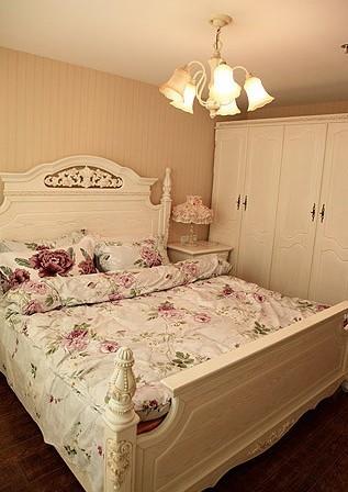 田园 loft 卧室图片来自用户2737791853在6.8万铸造田园风格loft两居室82的分享