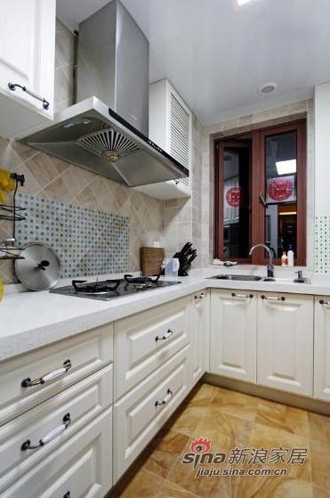 简约 二居 厨房图片来自用户2738093703在6万巧装现代简约时尚二居室27的分享