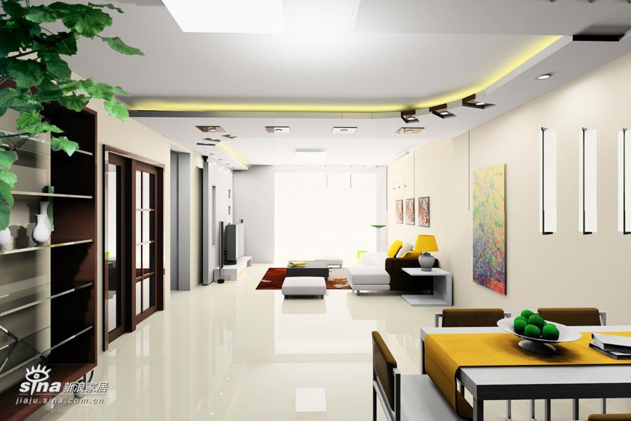 简约 三居 客厅图片来自用户2745807237在简洁明快回龙观48的分享