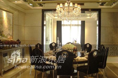 欧式 别墅 餐厅图片来自用户2746948411在白金瀚宫31的分享