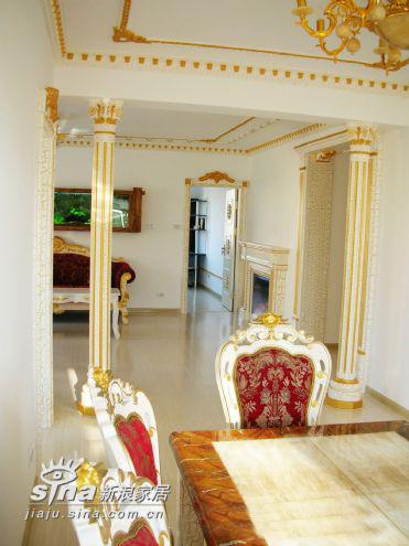 欧式 别墅 餐厅图片来自用户2772856065在万科城市花园88的分享