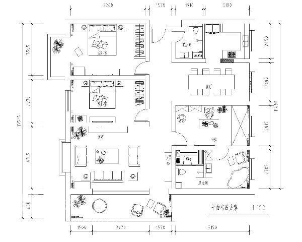中式 三居 客厅图片来自用户2737751153在9万装180㎡新中式三居室83的分享