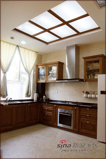 田园 别墅 厨房图片来自用户2737791853在中央公馆--美式田园风格84的分享