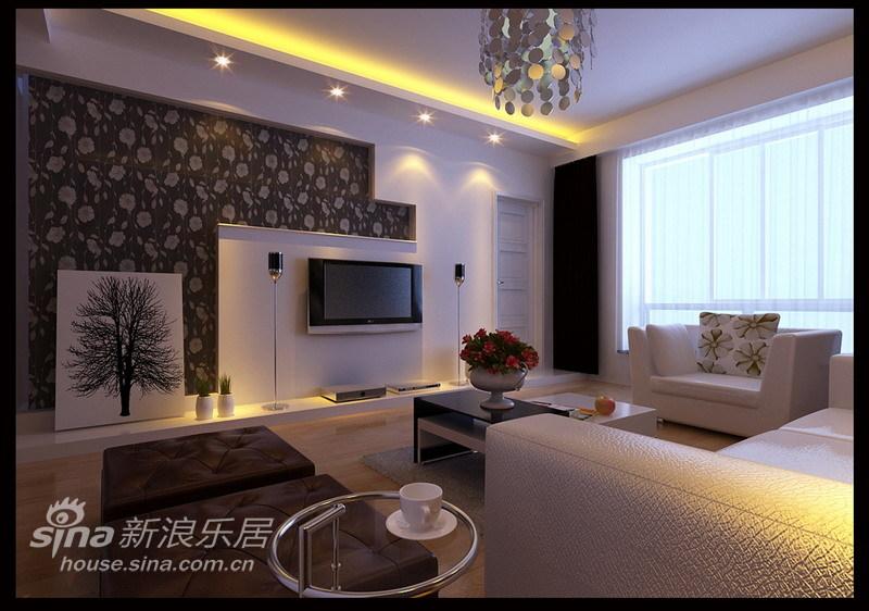 简约 三居 客厅图片来自用户2557979841在低调奢华简约风格11的分享