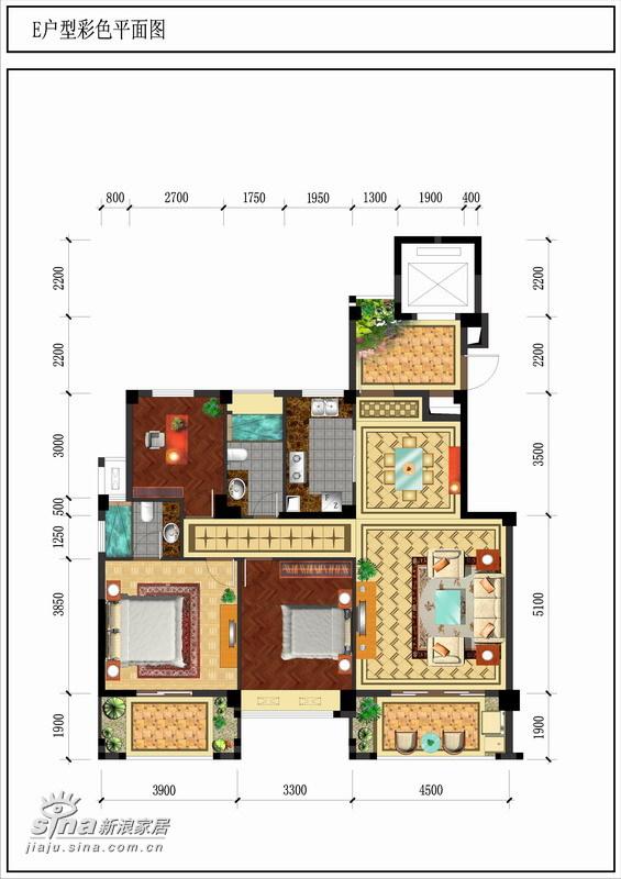 其他 三居 户型图图片来自用户2557963305在康桥尚都243的分享