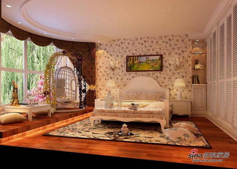 田园 三居 卧室图片来自用户2557006183在120㎡老房改造自然宜家田园风格3居室98的分享