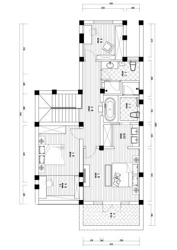 尊园2楼设计图