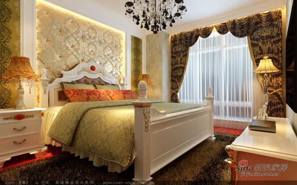 现代欧式卧室设计