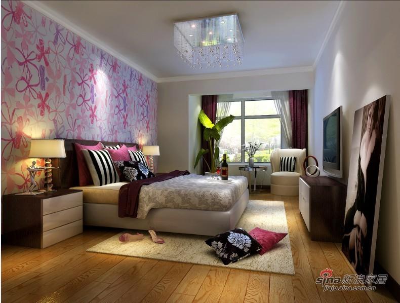 简约 二居 卧室图片来自用户2739378857在现代风格 简约生活17的分享