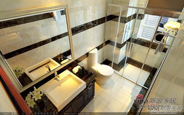 欧式 三居 卫生间图片来自用户2746948411在148平古典奢华版欧式风格3居室95的分享