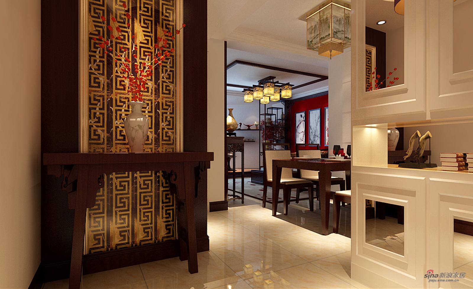 中式 四居 餐厅图片来自用户1907658205在11万打造金盏嘉园150平现代欧式四居室51的分享