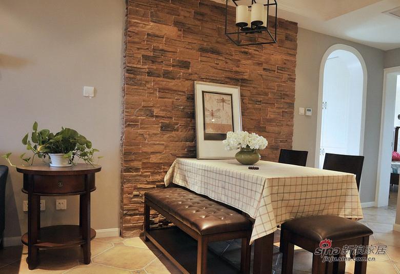 美式 二居 餐厅图片来自用户1907686233在【高清】11万营造88平美式休闲两居室33的分享