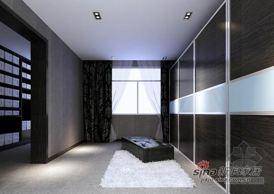 简约 别墅 客厅图片来自用户2557010253在黑白灰个性简约风别墅10的分享