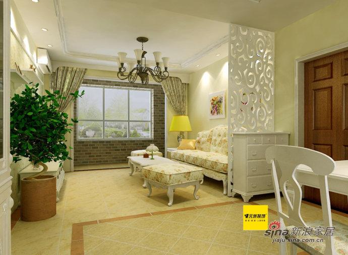 田园 二居 客厅图片来自用户2737946093在纳帕澜郡28的分享