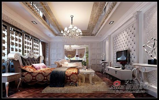 港式 别墅 卧室图片来自用户1907650565在93平港式爱情婚房别墅97的分享