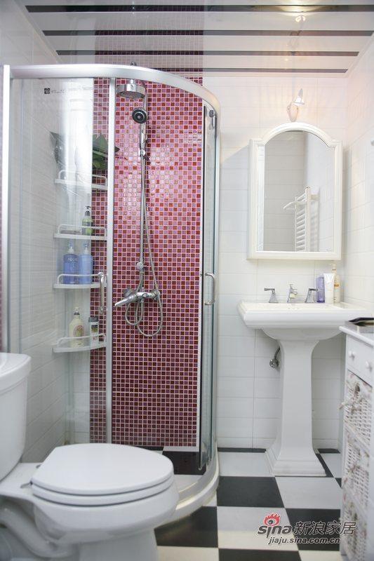 简约 一居 卫生间图片来自用户2557010253在玫瑰绽放小一居35的分享