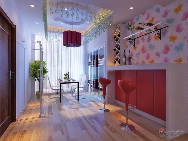 简约 一居 餐厅图片来自用户2737786973在5万硬装150平时尚经典爱家27的分享