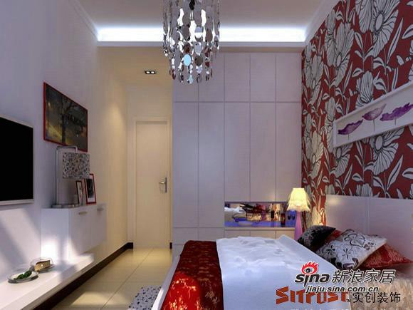 简约 二居 卧室图片来自用户2737735823在5.6万装87平简约经典2居室58的分享