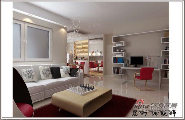 简约 二居 客厅图片来自用户2737735823在两居现代简约风超值体验84的分享